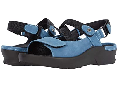 Wolky Lisse (Baltic Blue Antique Nubuck) Women