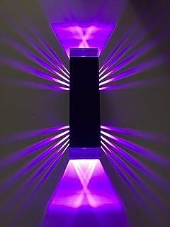 ShineLED-10 1.0 SpiceLED Éclairage mural en verre acrylique Violet 10 W