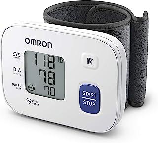 Omron Tensiómetro RS1 de muñeca, monitor de presión sanguínea para el hogar o portátil