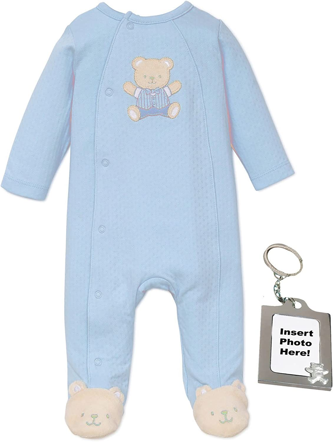 Little Me Neutral Baby Clothes for Preemie Newborn Boys or Girls One Piece Footie Footed Sleeper