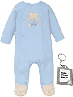 5df5e6667301 Little Me Neutral Baby Clothes for Preemie Newborn Boys Or Girls One Piece  Footie Footed Sleeper