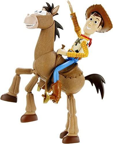 Toy Story Woody and Bullseye Roundup Pack by Mattel (English Manual)