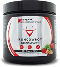 MagNaK Speed Sauce Electrolyte Powder Sports Drink by Iron Cowboy, Physician Developed Endurance Enhancement and Natural Hydration Formulation, Magnesium, Potassium, Sodium, Patented, Made in US