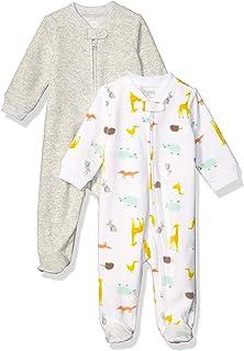 2-Pack Microfleece Sleep and Play Unisex bebé, Pack de 2