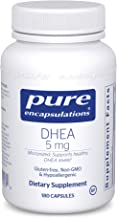 Pure Encapsulations – DHEA 5 mg – Micronized Hypoallergenic Supplement to..