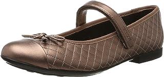 Geox 儿童 PLIE 45 芭蕾平底鞋