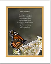 Retirement Gift. Butterfly Photo with