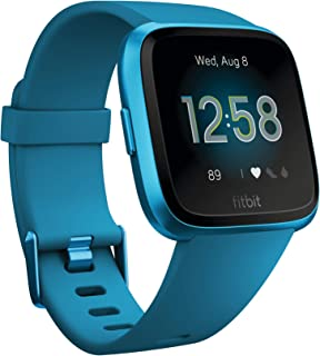 Fitbit Versa Lite Edition Smart Watch, One Size (S & L bands included)