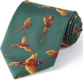 pheasant necktie