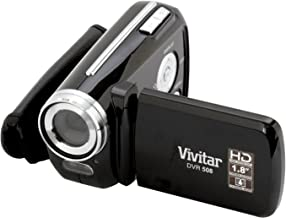 Vivitar 12 MP Digital Camcorder with 4X Digital Zoom Video Camera with 1.8-Inch LCD Screen, Colors and Styles May Vary