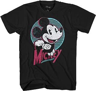 Disney Mickey Mouse American Original Men's Black Tee T-Shirt