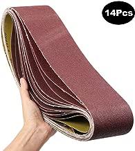 14-Pack 4x36-Inch Sanding Belt, MAXTUF Aluminum Oxide Sanding Belt Premium Sandpaper For Portable Belt Sander Polishing Wood, Knife and Grinding Fiberglass, 2 Each of 600 400 240 150 120 80 60 Grits