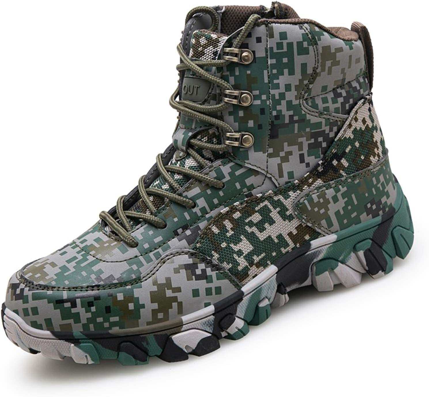BSFSDWX Tactical Max 89% OFF Military Combat Boots Army Leather Suede Long Beach Mall Men Hu