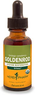 Herb Pharm Certified Organic Goldenrod Liquid Extract for Urinary System Support, 1 Fl Oz