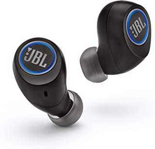 JBL Free X Truly Wireless in-Ear Headphones with Built-in Remote and Microphone - Black