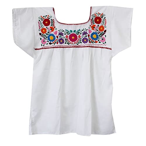 Mexican Peasant Blouse Amazon Com