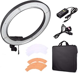 "EACHSHOT ES240 240 LED 18"" Stepless Adjustable Ring Light Camera Photo/Video Portrait photography 240pcs LED 5500K Dimmabl..."