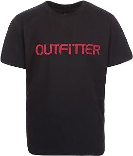 OUTFITTER Classic T-Shirt uniseks-kind T-shirt voor kinderen.