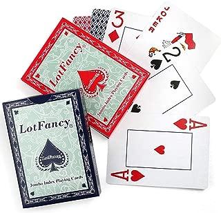 bridge cards vs poker cards