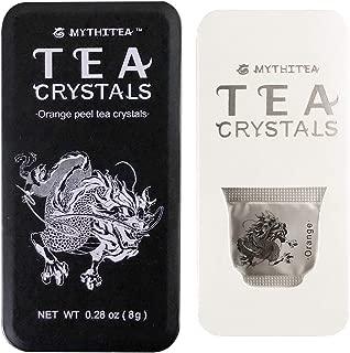 Mythitea Orange Peel Tea 16 Single Serve Bags Premium Organic Loose Tea Crystal Got a Cup of Drinkable Tea in 30 Seconds