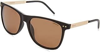 Polaroid Men's PLD 1028/S SP Sunglasses, MTBKGOLD BK, 55