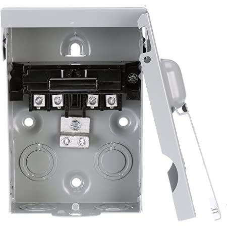 Spa Disconnect Details about  /SQUARE D SCHNEIDER ELECTRIC QO200TRNM 60A Non Fuse Disconect