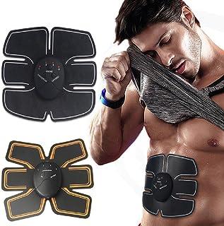 EMS Abdominal Muscle Trainer Stimulator Body Electric Pulse Treatment Slimming Massage Training Pads Fat Burner Gymnic Belt