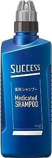 サクセス 薬用シャンプー 本体 400ml [医薬部外品] アブラ ワックス ニオイ 一発洗浄 アクアシトラスの香り 400ミリリットル (x 1)