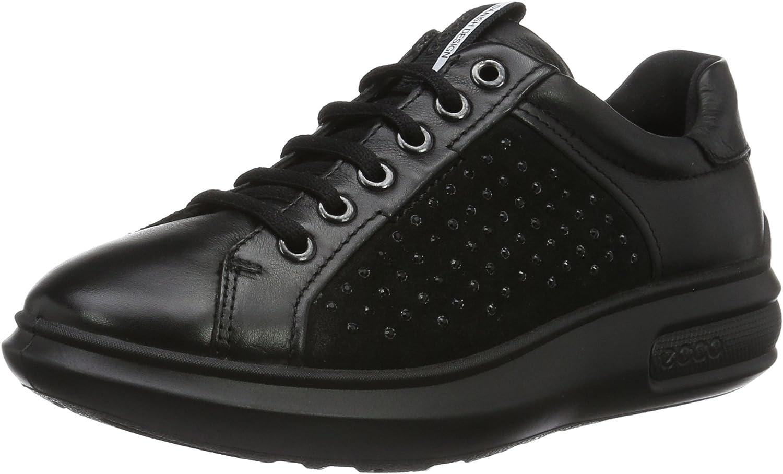 Ecco Womens Soft 3 Tie Fashion Sneaker