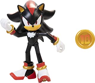 "Sonic The Hedgehog 4"" Shadow Action Figure with Super Ring Accessory"