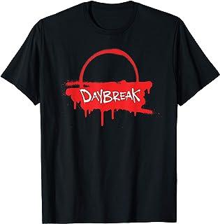 Netflix Daybreak Sunrise Spray Paint Logo T-Shirt