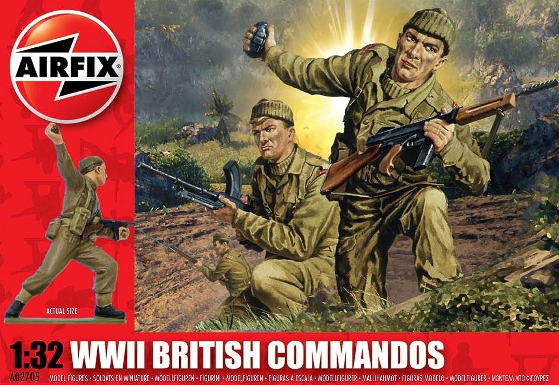 Airfix A02705 1 32 Scale British British British Commandos Figures