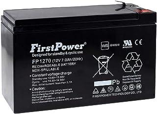 FirstPower Batería de Gel para SAI APC Smart-UPS SC 420 7Ah 12V