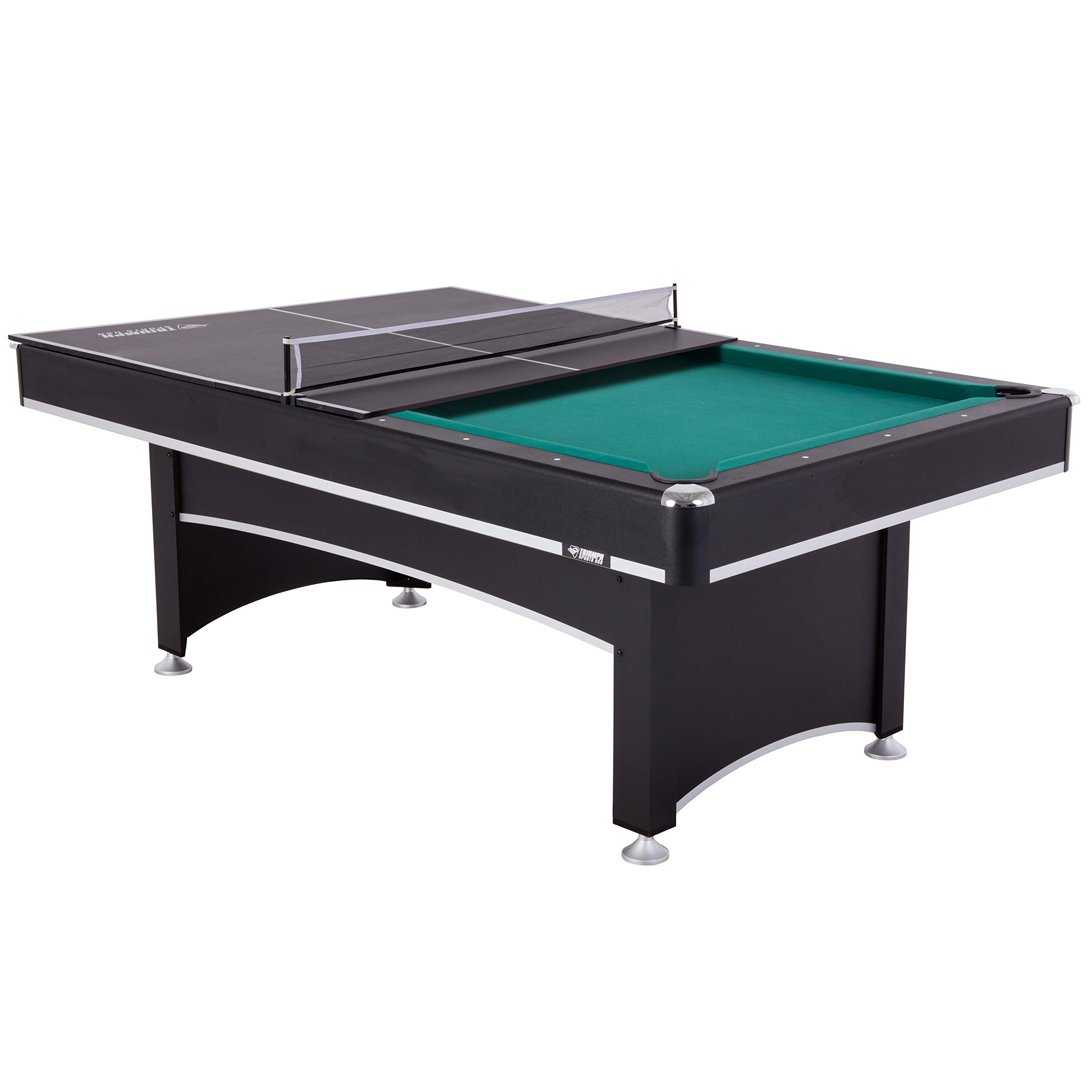 Triunfo deportes Phoenix 7 mesa de billar con parte superior de conversión de tenis de mesa: Amazon.es: Deportes y aire libre