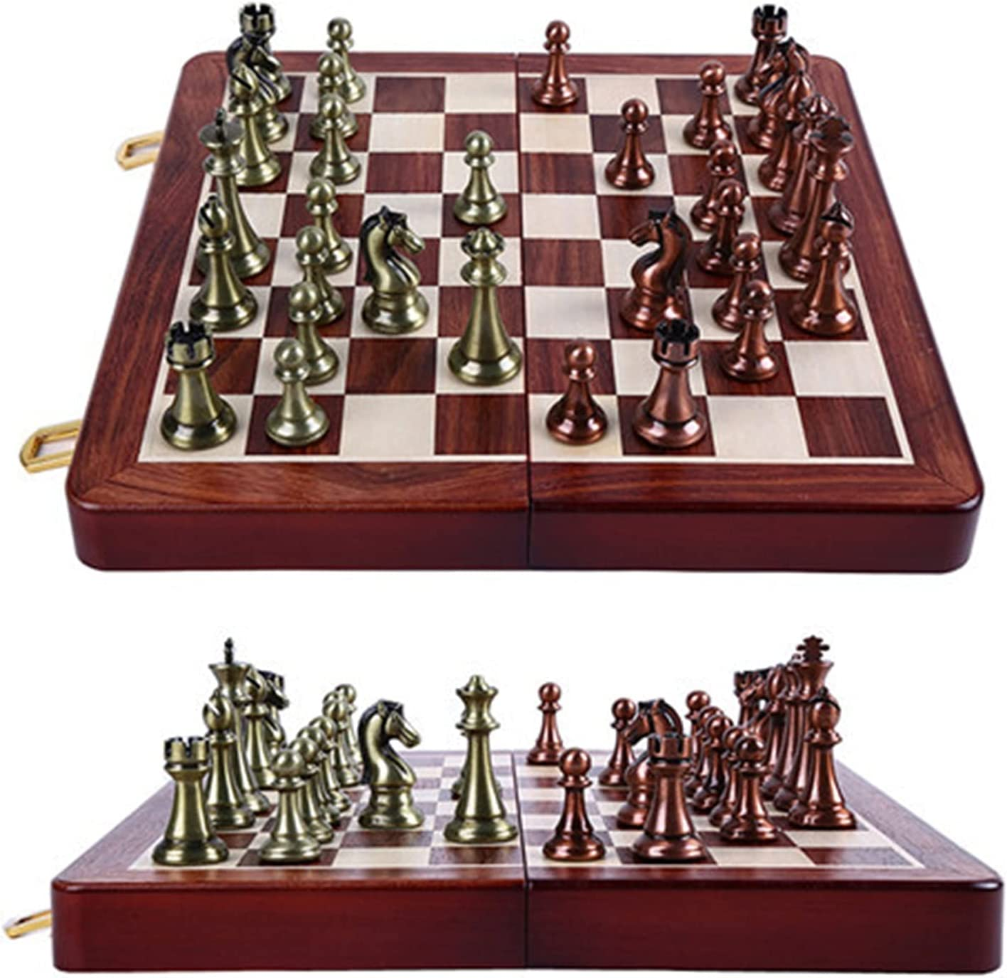 Bidema Chess Set Award Wooden Folding OFFicial store 67mm Chessboard King Height Ches