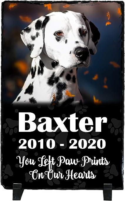Slate Tile Pet Memorial Custom Personalized