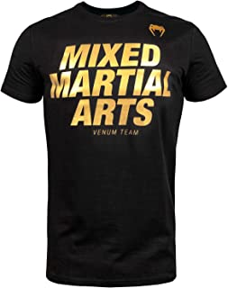 Venum MMA VT T-Shirt - Black/Gold - XL