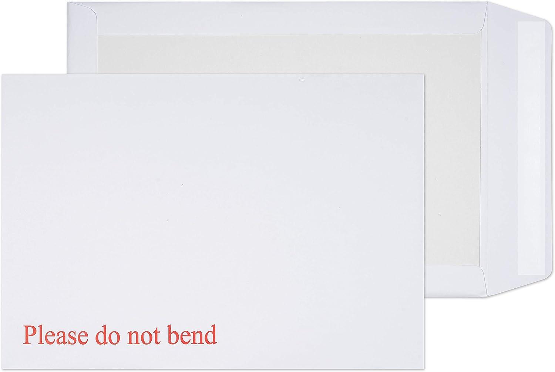 Arpan Enveloppes /à dos en carton rigide A4 324 x 229 mm 1 Lot de 50