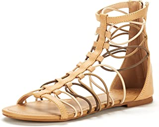 Women's Roman Fashion Gladiator Flat Sandals