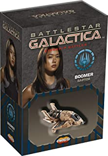 Ares Games Battlestar Galactica Starship Battles Boomer's Raptor Card Game, Multi-Colored