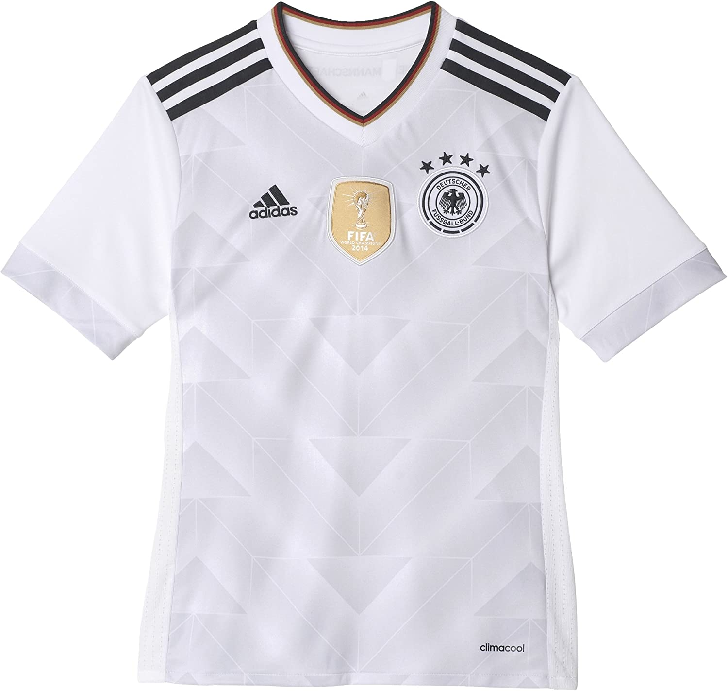 adidas Youth Germany 17/18 Home White/Black Jersey