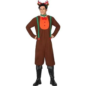 Atosa-26959 Disfraz Reno Hombre Adulto-Talla, Color marrón, M-L ...