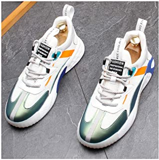 Mens Womens Trainers Running Shoes Lightweight Sports Gym Walking Sneakers Multi Sport Athletic Jogging Fitness Walking Casual Shoes,Green,41EU
