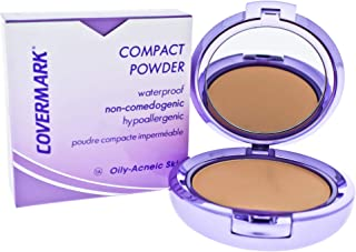 Covermark Compact Waterproof Powder - 1A - Oily-Acneic Skin for Women - 0.35 oz