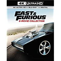 Fast & Furious 8-Movie Collection 4K Ultra HD