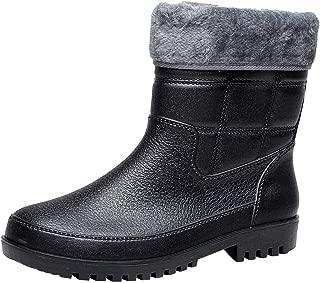 Rain Boots Men Short Tube Non Slip Waterproof high boots Fishing Shoes