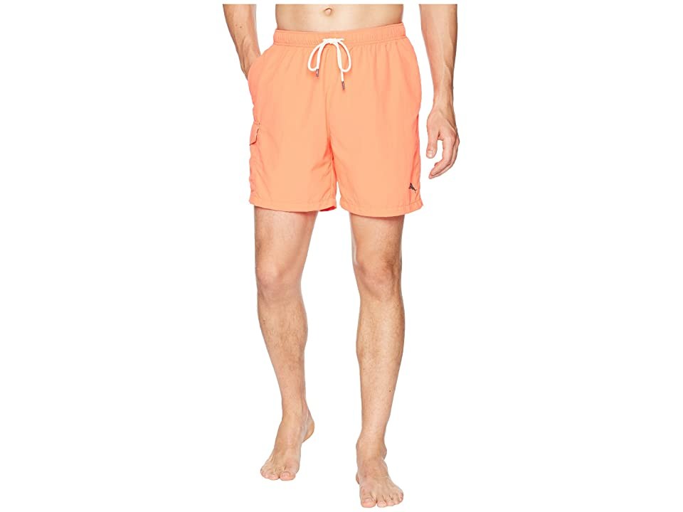 Tommy Bahama Naples Coast Swim Trunk (Electric Coral) Men