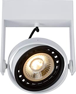 Lucide 22969/12/31 - Foco de techo (aluminio, 12 W), color blanco