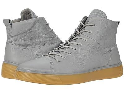 ECCO Street Tray High-Top Sneaker (Wild Dove) Men
