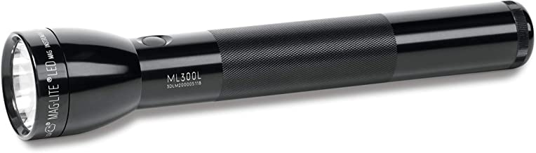 Maglite ML300L LED 3-Cell D Flashlight in Flashlight, Black